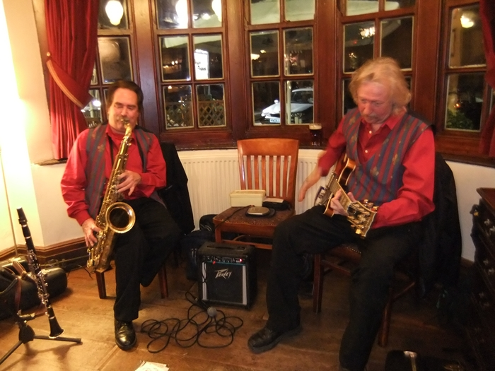March Music Train - at the Golden Pheasant, Plumley